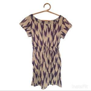 Anthropologie Mermaid Purple Hearts Dress 💜